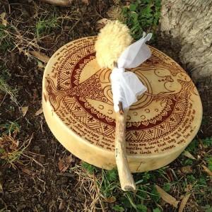 my henna'd drum
